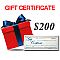 Gift Certificate - $200